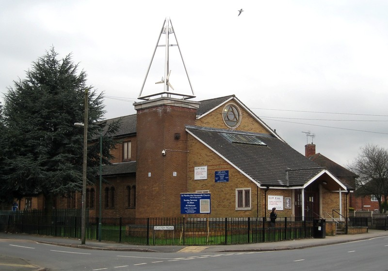 View of the church