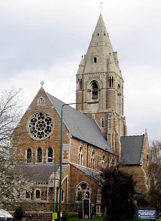 Nottingham St Andrew - History