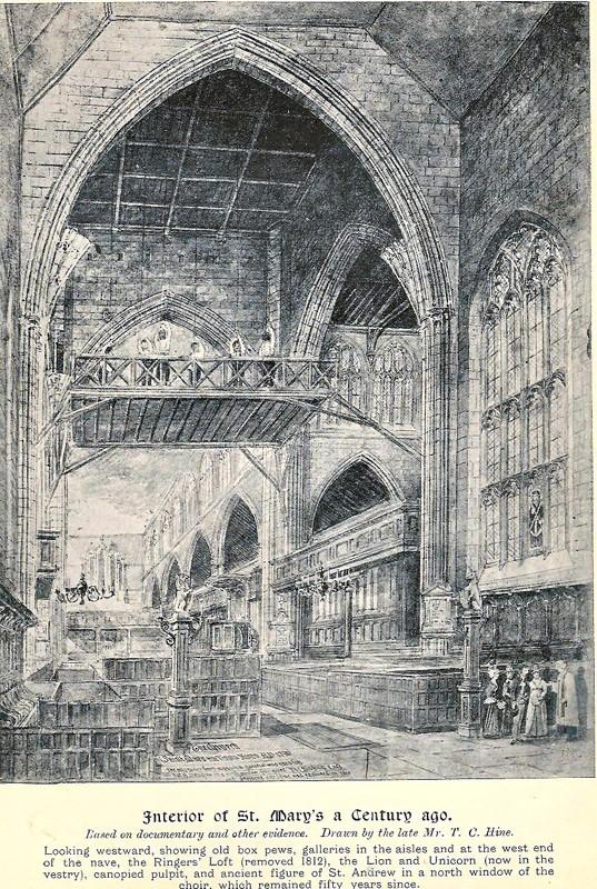 Nottingham St Mary History