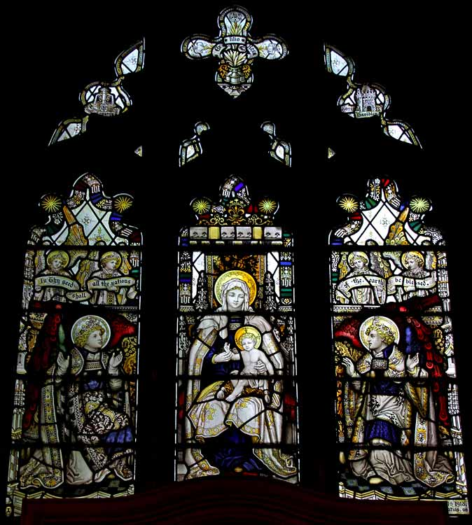 Worksop St Anne - Glass